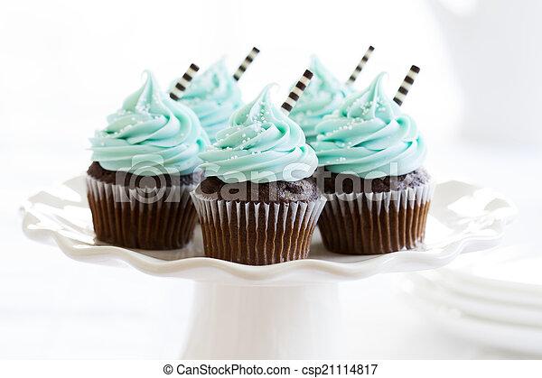 Cupcakes - csp21114817