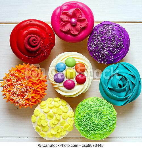 Cupcakes - csp9878445