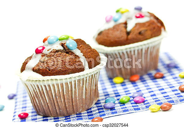 cupcakes - csp32027544