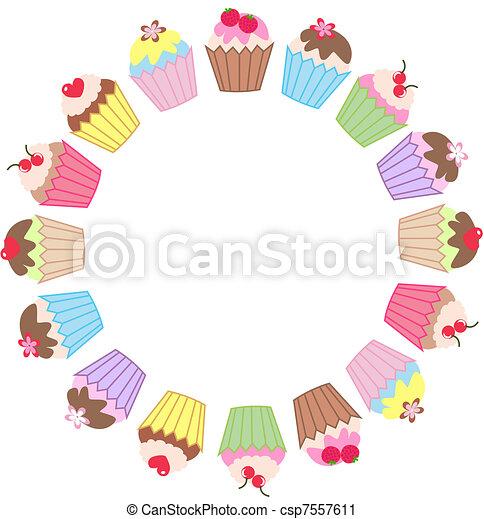 cupcakes - csp7557611
