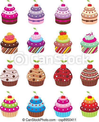 Cupcakes - csp8950411