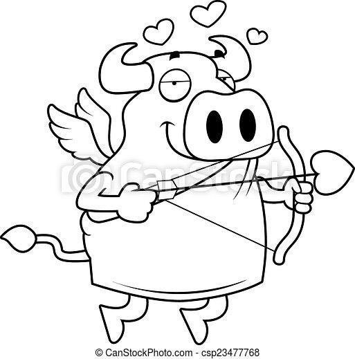 Bull Cupido - csp23477768