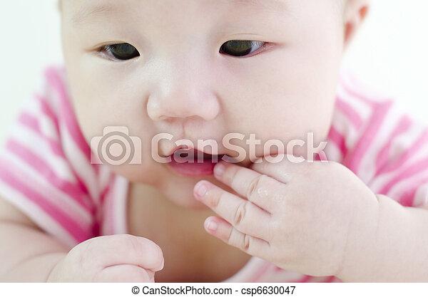 Curious baby - csp6630047