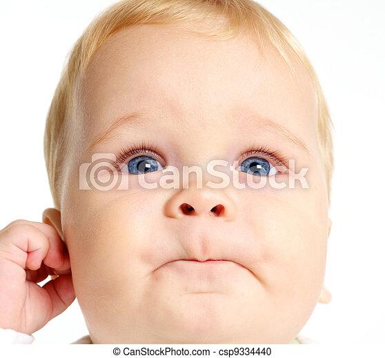 Curious Baby - csp9334440