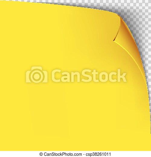 Curl corner yellow paper template transparent grid empty isolated curl corner yellow paper template transparent grid empty isolated background page maxwellsz