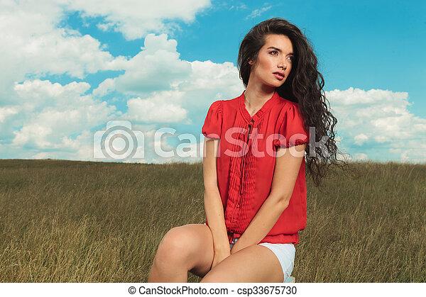 Between her legs pics