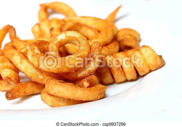 curly fries - csp9937296