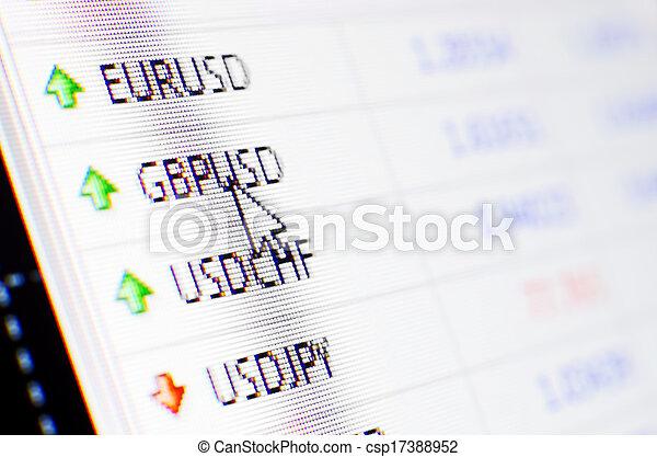 Currency exchange - csp17388952
