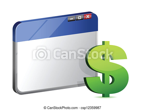 currency symbol browser - csp12359987