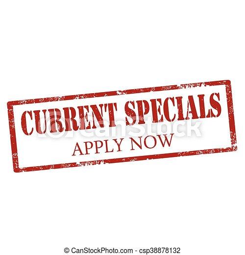 Current Specials-stamp - csp38878132