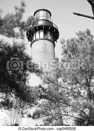 Currituck lighthouse - csp0488206