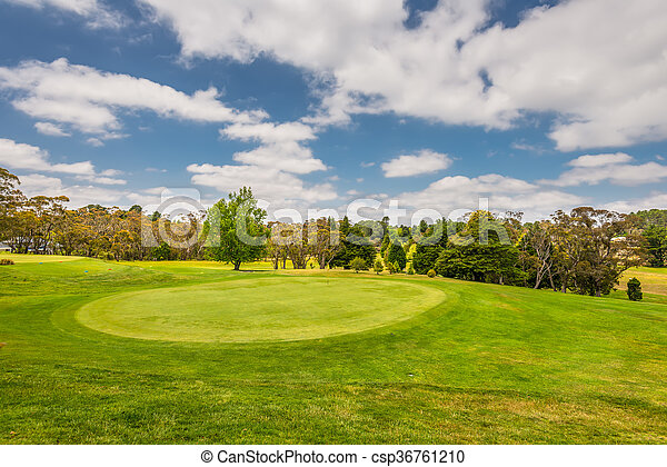 Campo de golf - csp36761210