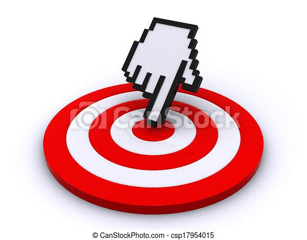 Cursor y objetivo - csp17954015