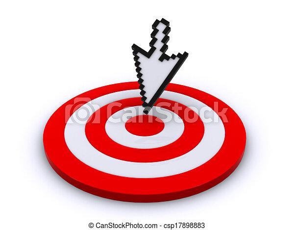 Cursor y objetivo - csp17898883