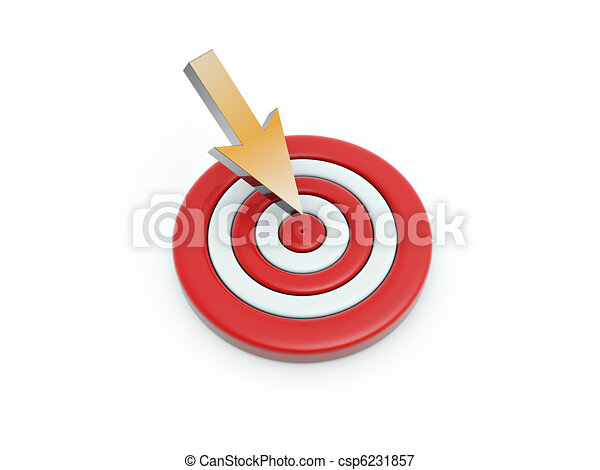 Cursor click en el blanco - csp6231857