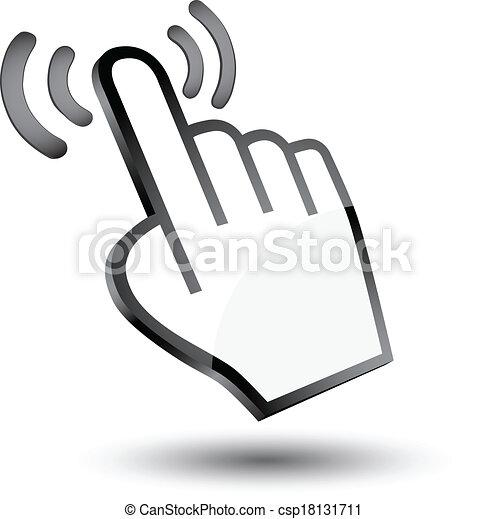 Maldito icono 3D - csp18131711
