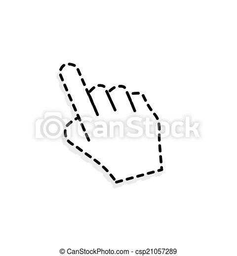 Un cursor manual - csp21057289