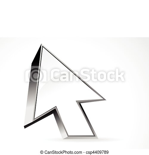 Abstract 3d icono superficialr - csp4409789