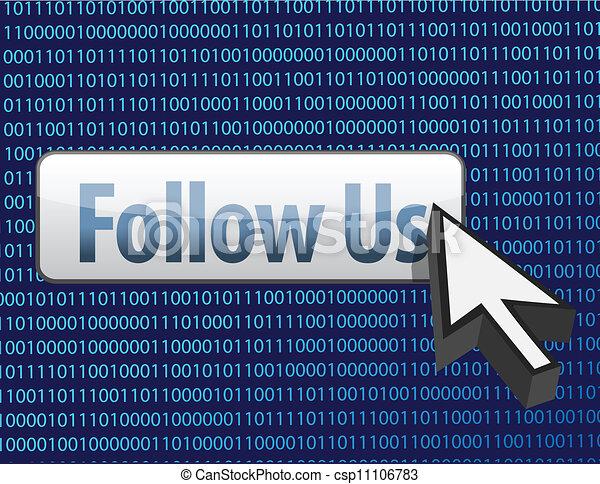 cursore, binario, disegno, ci, seguire - csp11106783