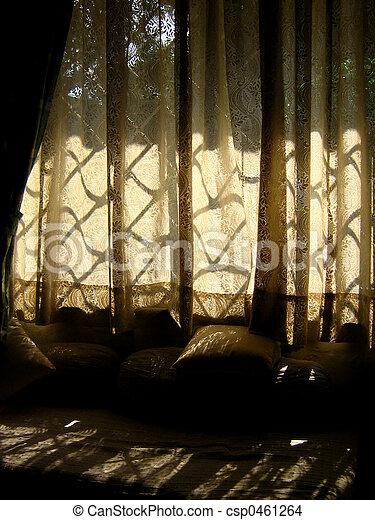 Curtains - csp0461264