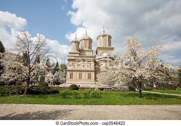 Curtea de Arges monastery, travel, destination - csp3546423