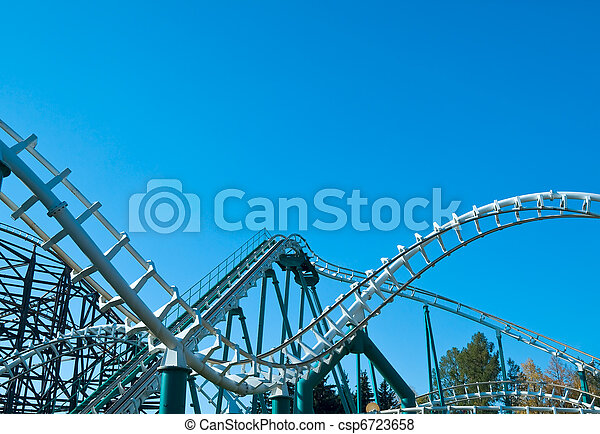 curved coaster construction - csp6723658