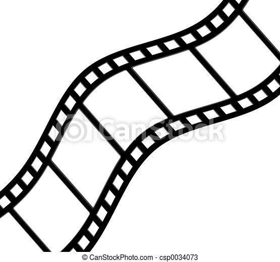 Curved Film - csp0034073