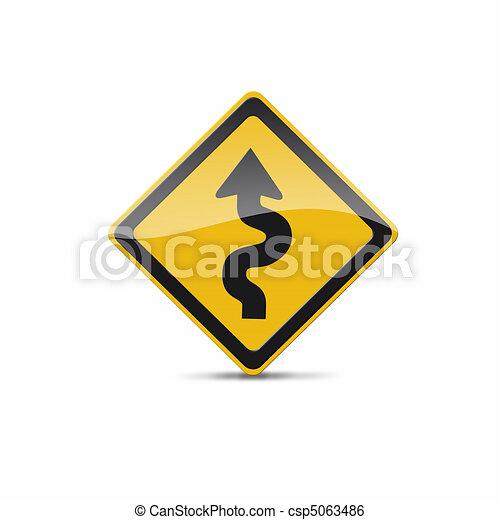 curvy sign - csp5063486
