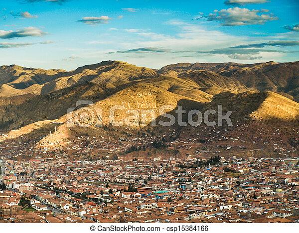 Cusco city - csp15384166