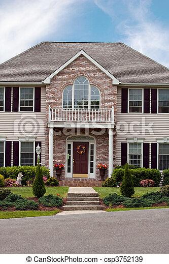 Custom Built Home - csp3752139