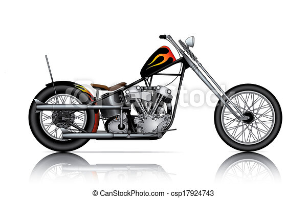 custom chopper - csp17924743
