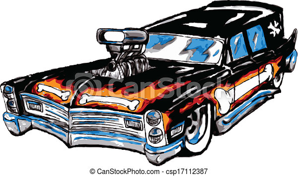 original design custom hot rod station wagon great for use rh canstockphoto com hot rod truck clipart hot rod clipart drawing 1932 ford