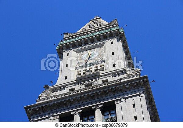Custom House, Boston - csp86679879