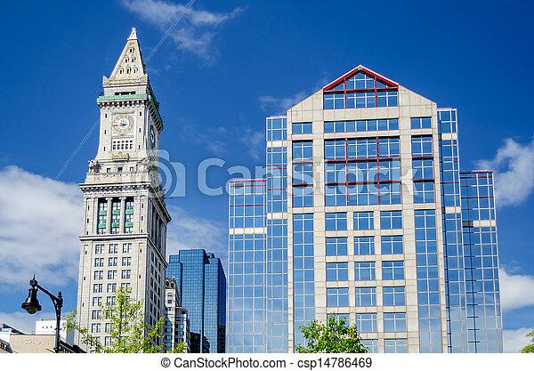 Custom House Tower, Boston - csp14786469