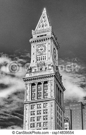 Custom House Tower, Boston - csp14839554