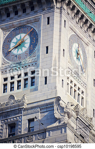 Custom House Tower - csp10198595