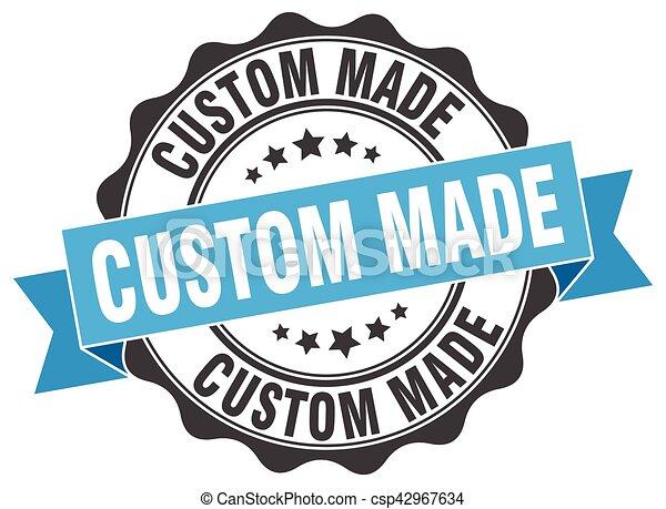 Custom made stamp sign seal csp42967634
