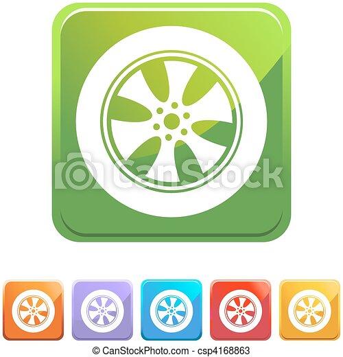 Custom Tire Rims - csp4168863