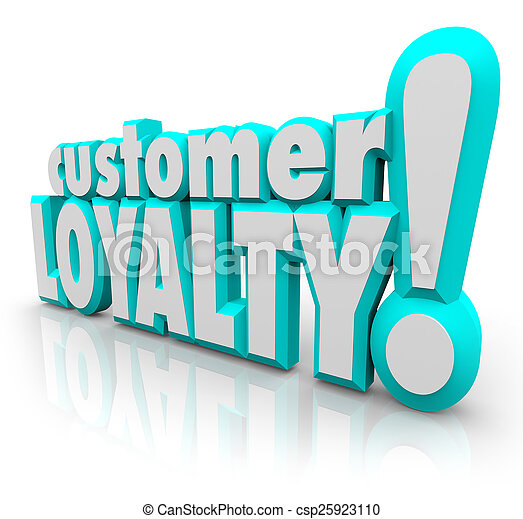 Customer Loyalty Return Repeat Business Satisfied Client - csp25923110