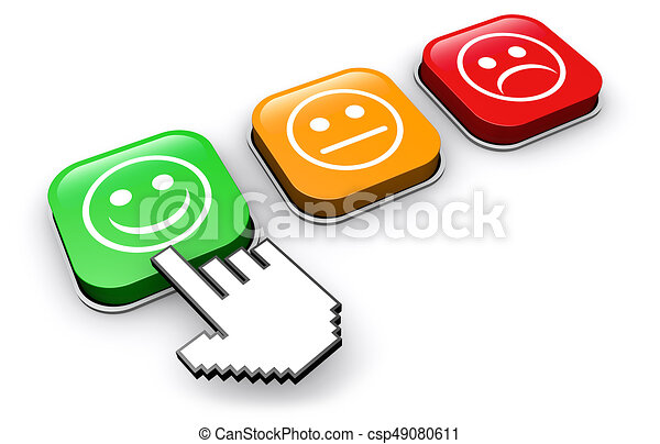 customer quality happy feedback button happy customer clipart rh canstockphoto com Satisfied Customer Clip Art happy customer service clipart