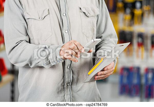 Customer Scanning Tool Packet Through Mobilephone - csp24784769