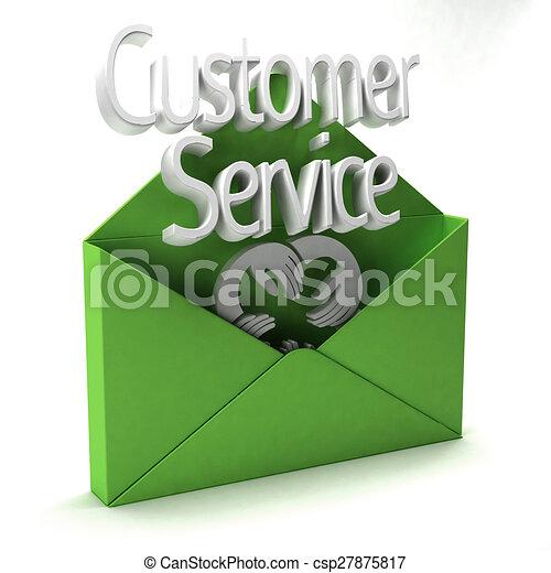 Customer Service Ad - csp27875817