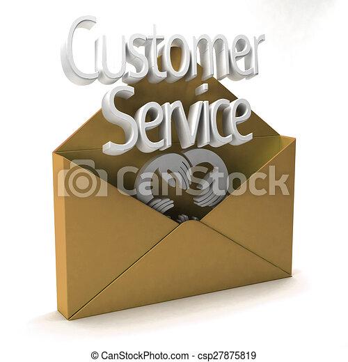 Customer Service Ad - csp27875819
