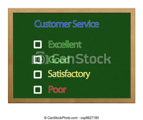Customer service. - csp8627180