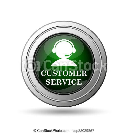 Customer service icon - csp22029857