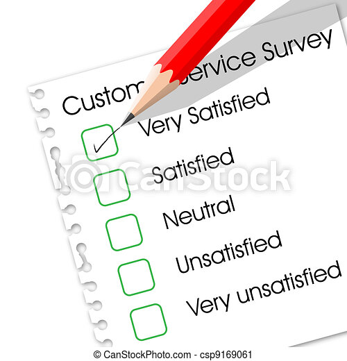 Customer Service Survey - csp9169061