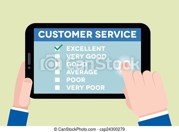 customer service survey - csp24300279