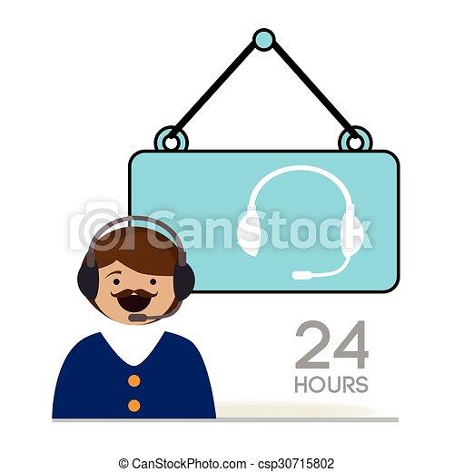 customer service design vector illustration eps10 graphic vector rh canstockphoto com customer service clipart free customer service clipart images