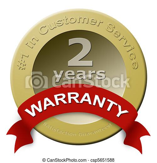 Customer service warranty seal - csp5651588