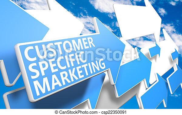 Customer Specific Marketing - csp22350091